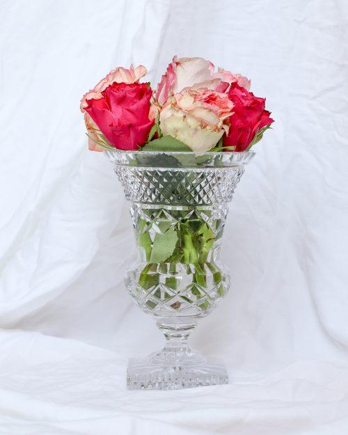 je suis flore, vaas, vazen, kristal