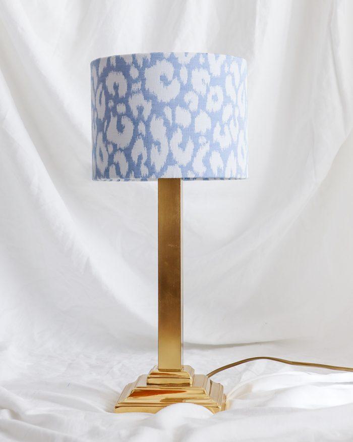 je suis flore, lamp, lampen, lampenkap, panterprint, panterprint lampenkap, panterprint lampenkap klein, gouden lamp