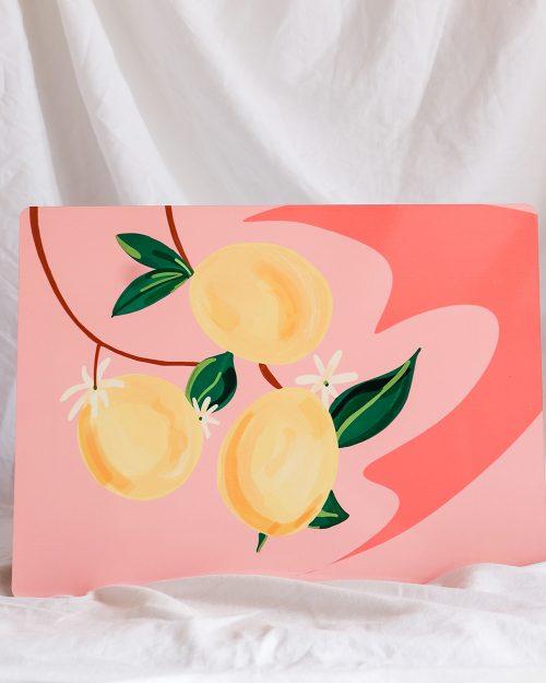 je suis flore, placemats, placemat, placemat lemons